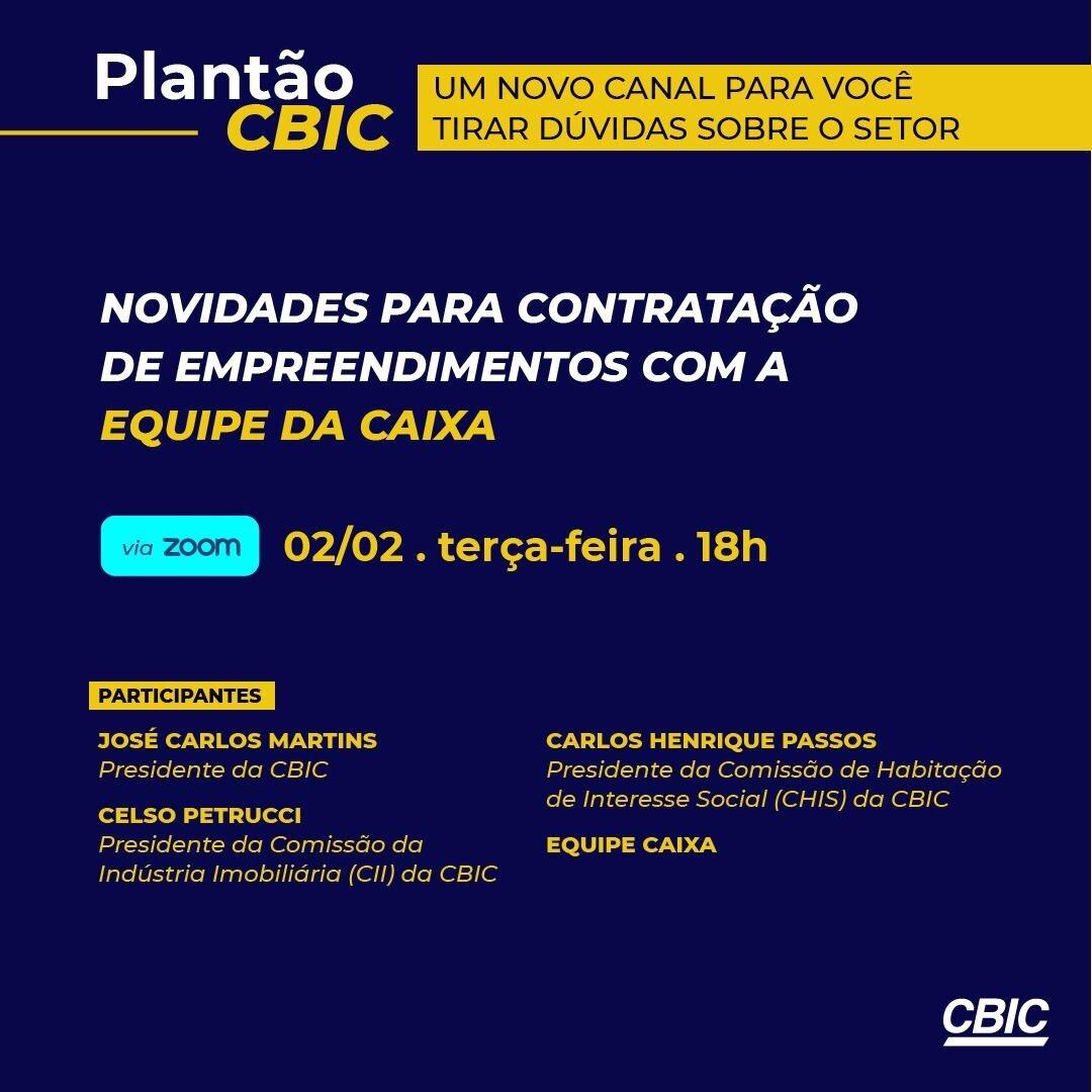 Plantão CBIC - Caixa